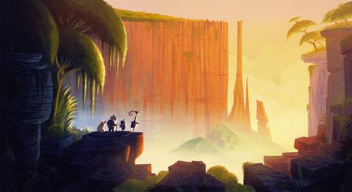 Pry, To 365: Day 50: Pixar Concept Art (Part 4)
